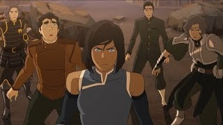 Legend Of Korra-Runnin from my Heart {AMV}