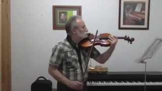 NO TE PUEDO QUERER (cumbia).  Joaquín al violín y saxo