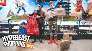 Billionaire Spends $40,000 Dollars Hypebeast Shopping!