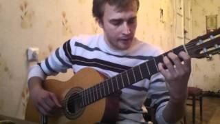 ZAZ Je veux  (guitar cover by Alexey Nosov)