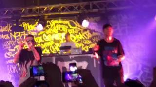GEMITAIZ  QCV7 LIVE 01/04/2017  @ Orion Roma - Veleno pt. 6 feat. MadMan