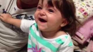 Risada da bebê Sofia