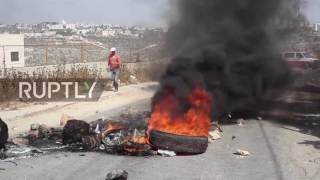 State of Palestine: Clashes erupt after deadly stabbing at Israeli settlement leads to raids