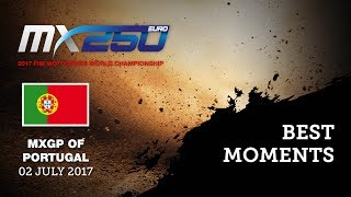 EMX 250Race1 Best Moments_MXGP of Portugal 2017