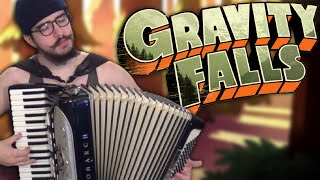 Gravity Falls Main Title Theme [accordion cover]