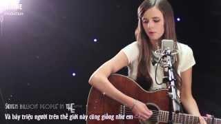 Học Tiếng Anh Qua Bài Hát : As Long As You Love Me (Tiffany Alvord)