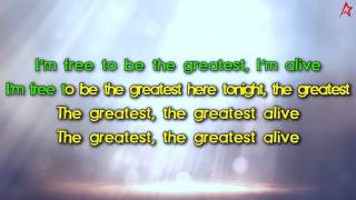 Sia - The Greatest (Karaoke / Instrumental / Lyrics)
