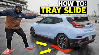 Tray Slides With Front Wheel Drive: Step by Step! FWD Hoon School, pt.2