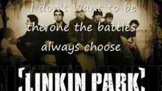 Linkin Park - Breaking the habbit ( lyrics )