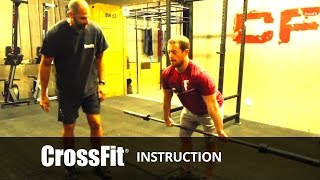 The Hang Power Clean with Stephane Rochet