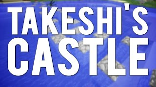 Takeshi's Castle Skipping Stones in Minecraft
