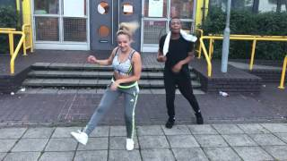 DJ Flex and DJ Paak - Afrobeat Twerk Challenge. Choreography by Lauren Halil and Koby Turner
