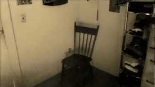 """Testing Effects - Creepy Video Test 1 - """"Wooden Chair"""""""