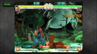 SF3 Akuma VS Ryu Epic Parry Win