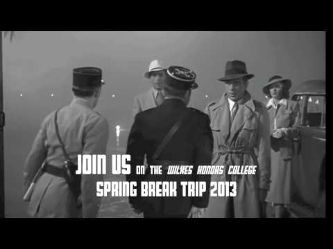 Wilkes Honors College Spring Break Trip 2013