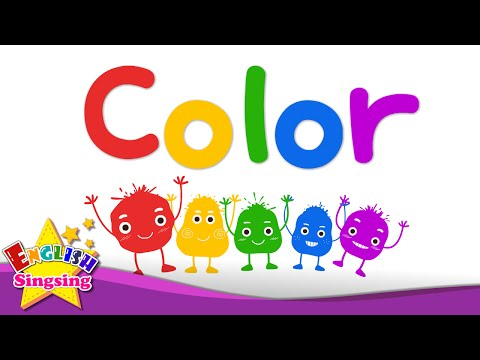 Kids vocabulary - Color - color mixing - rainbow colors - English educational video - YouTube