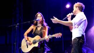 Vanesa Martin y Pablo Alboran - Borracha de Amor - Concierto Aranjuez
