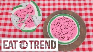 Watermelon Chocolate Bark | Eat the Trend
