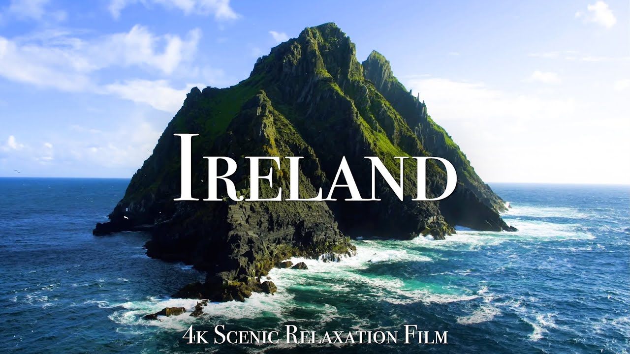 Beautiful Ireland in 4K – Scenic Relaxation Film With Calming Music