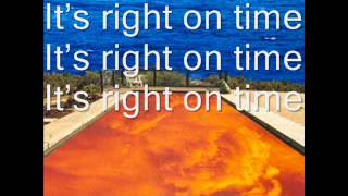 Right on Time with lyrics