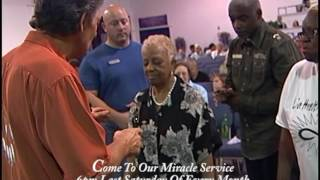 Lady's Arms And Back Healed Miracle - Now She Raises Arms Praising God - Mel Bond