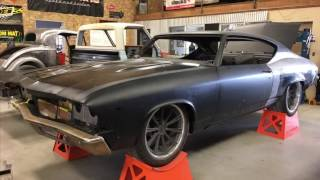 '69 Chevelle Build on a  Speedtech Extreme Chassis