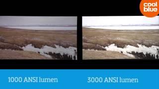 Hoeveel lichtopbrengst (ANSI-lumen) heeft je beamer nodig?