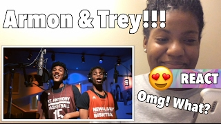ARMON & TREY Bryson Tiller MASHUP REACTION!!!   Tatibbeautiful