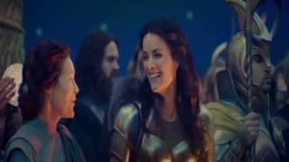 Thor: The Dark World bloopers/making of --- make your own kind of music