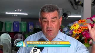 Matéria da Inter TV Cabugi sobre atendimento bancário em Upanema