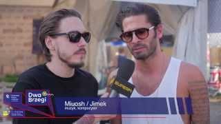 Wywiad - Miuosh & Jimek.Festiwal Filmu i Sztuki Dwa Brzegi 2015