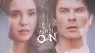 Damon &  Elena | 8x16. Hold on I still need you.