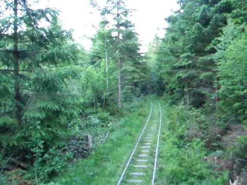 The Narrow Gauge Railway Mindunok – Vyhoda, Ukraine