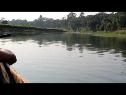 Nepal Chitwan 坐獨木舟