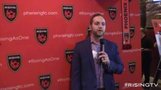 UNCUT: Phoenix Rising COO Bobby Dulle speaks to fans at jersey unveiling