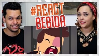 REACTION!!! Animatoons #7 - Julio Cocielo vs Bebida (Canal Nostalgia)