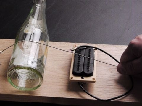 Build a Simple Electric Guitar in 10 minutes (Diddley Bow)