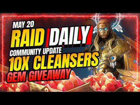 Arena Fix is LIVE?! Gem GIVEAWAY! | RAID Shadow Legends