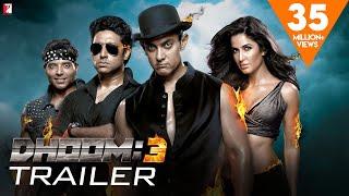 DHOOM:3   Official Trailer   Aamir Khan   Abhishek Bachchan   Katrina Kaif   Uday Chopra