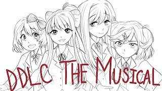 If Doki Doki Literature Club Was a Musical (Animatic)