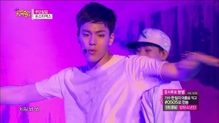 【TVPP】MONSTA X  - Trespass, 몬스타엑스  - 무단침입 @ Hot Debut Stage, Show Music core Live