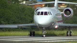 decolagem falcon 2000