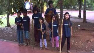 Coro Guarani en Iguazu