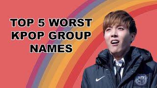 Top 5 Worst Kpop Group Names