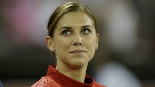Alex Morgan Says Lionel Messi is THE Best Player in The World || #MustWatch || width=