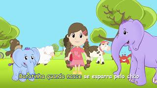 A Janelinha abre e fecha - Elefantinho Bonitinho - Música para crianças