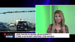 Marcela Guimoye de Us Injury Center, ¿Qué hacer a la hora de un accidente?