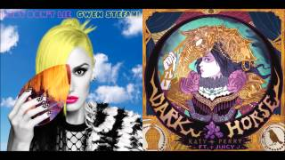 Gwen Stefani + Katy Perry - Baby Don't Lie/Dark Horse (Mashup)