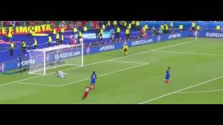 Eder Amazing Goal - Portugal vs France 1-0 Euro 2016 Final HD