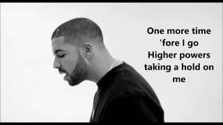 One dance - Drake feat. Wizkid & Kyla Lyrics